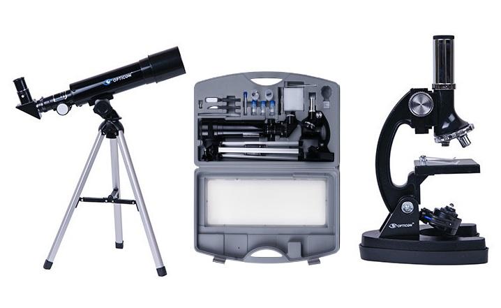 Zestaw opticon multiview teleskop mikroskop