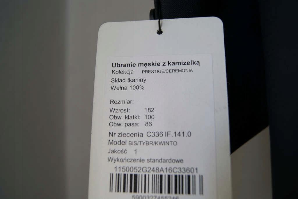 9d2dc7a74a250 Surdut frak garnitur ślubny INTERMODA!!! - 7373261025 - oficjalne ...
