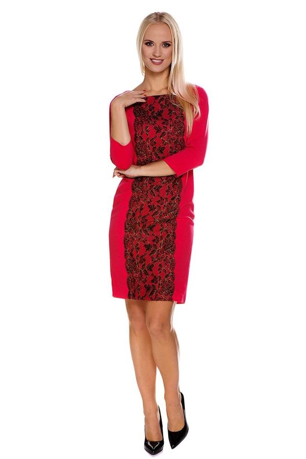 c05b14e442b3 Sukienka do karmienia czerwona Carrera XL MY TUMMY - 6976998687 ...
