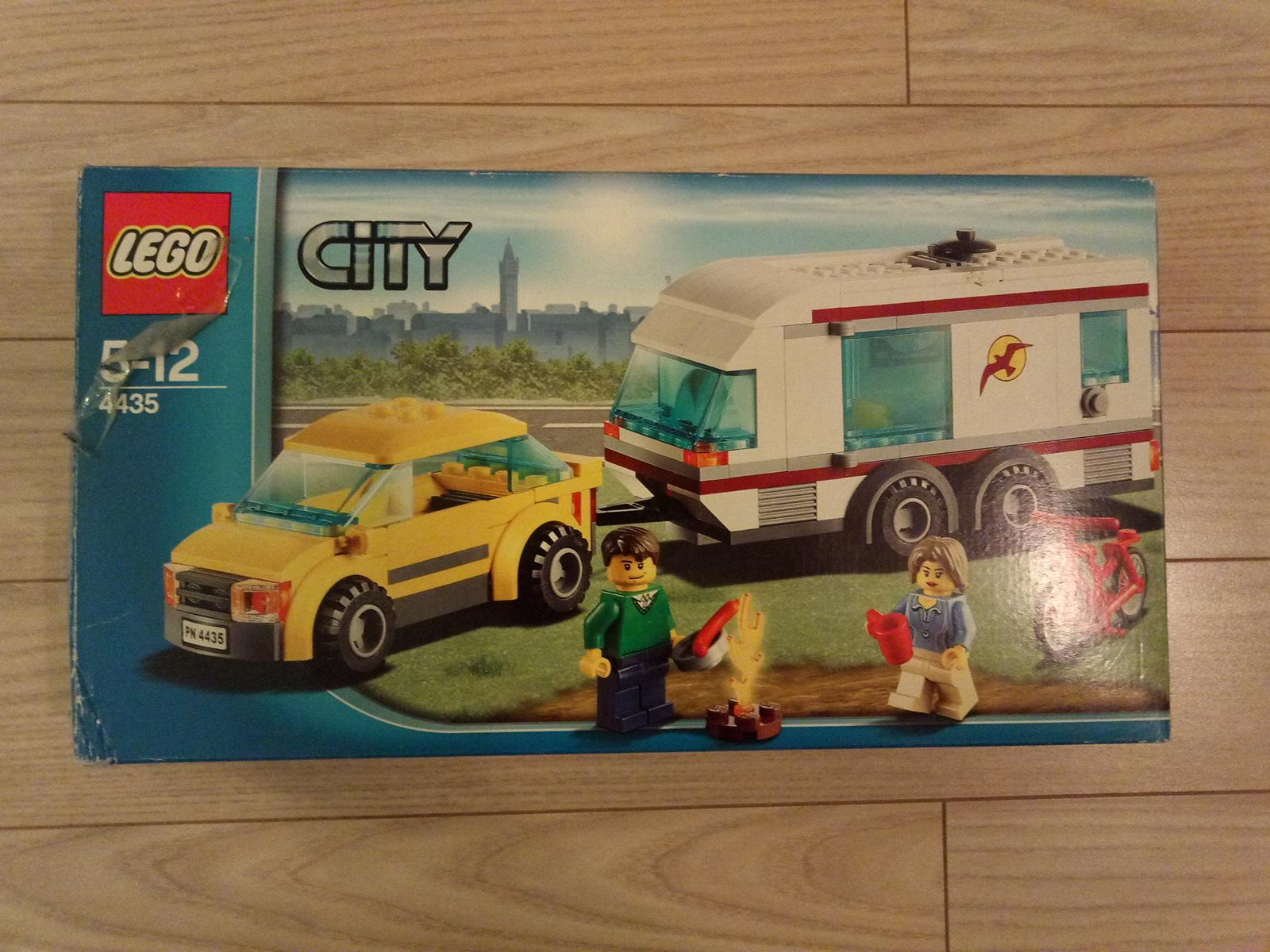 Lego City 4435 Samochód Z Przyczepą Kempingową 7119245997