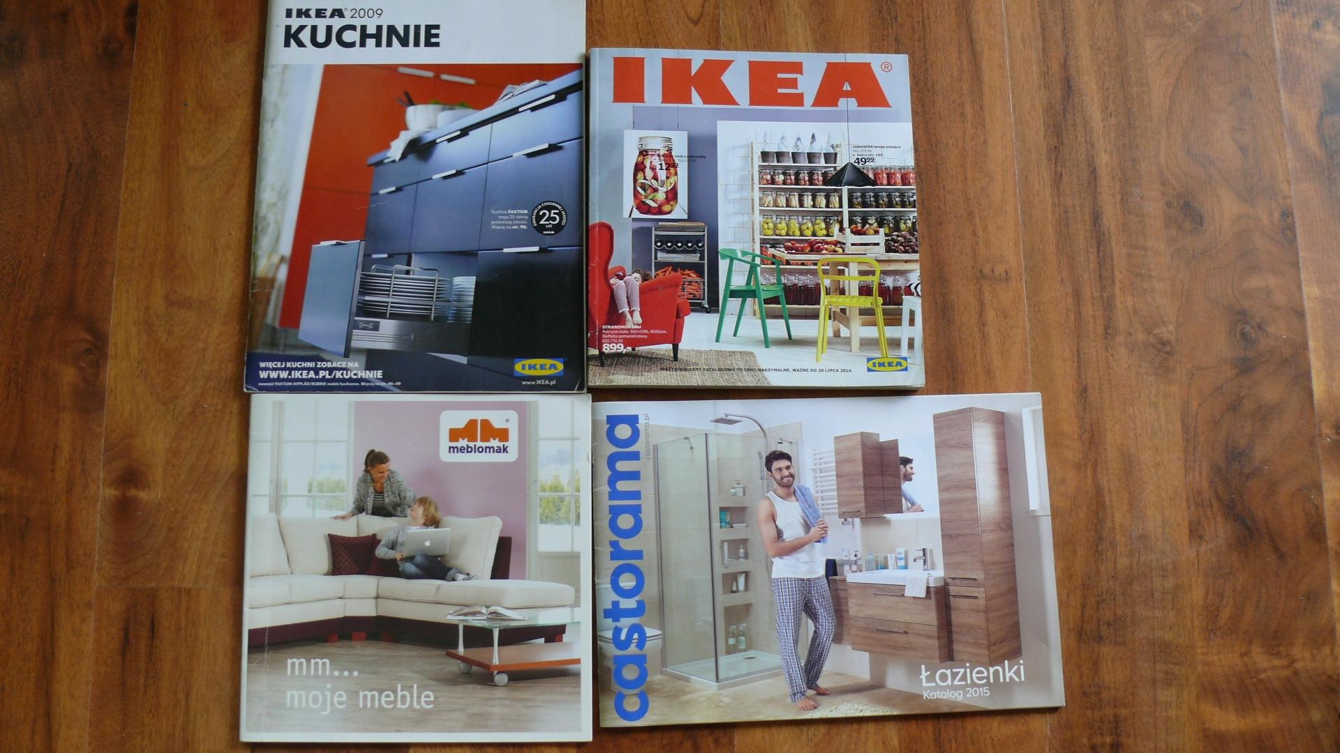 Zestaw 6 Szt Katalog Ikea Castorama Meblomak I In