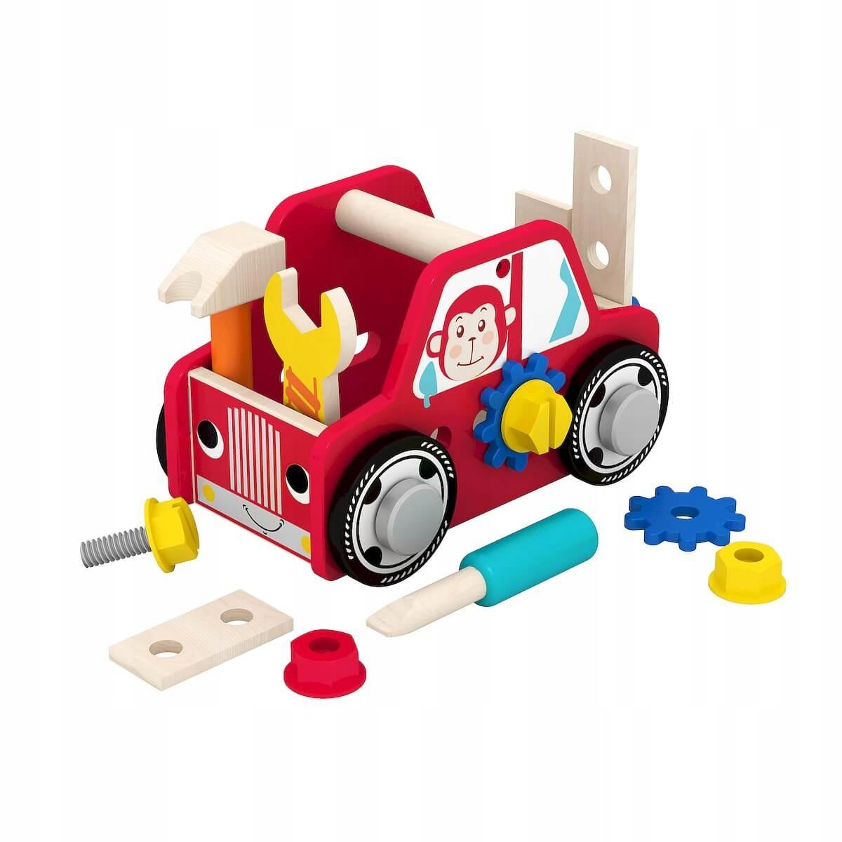 SMILY PLAY AC6636 Auto z narzędziami
