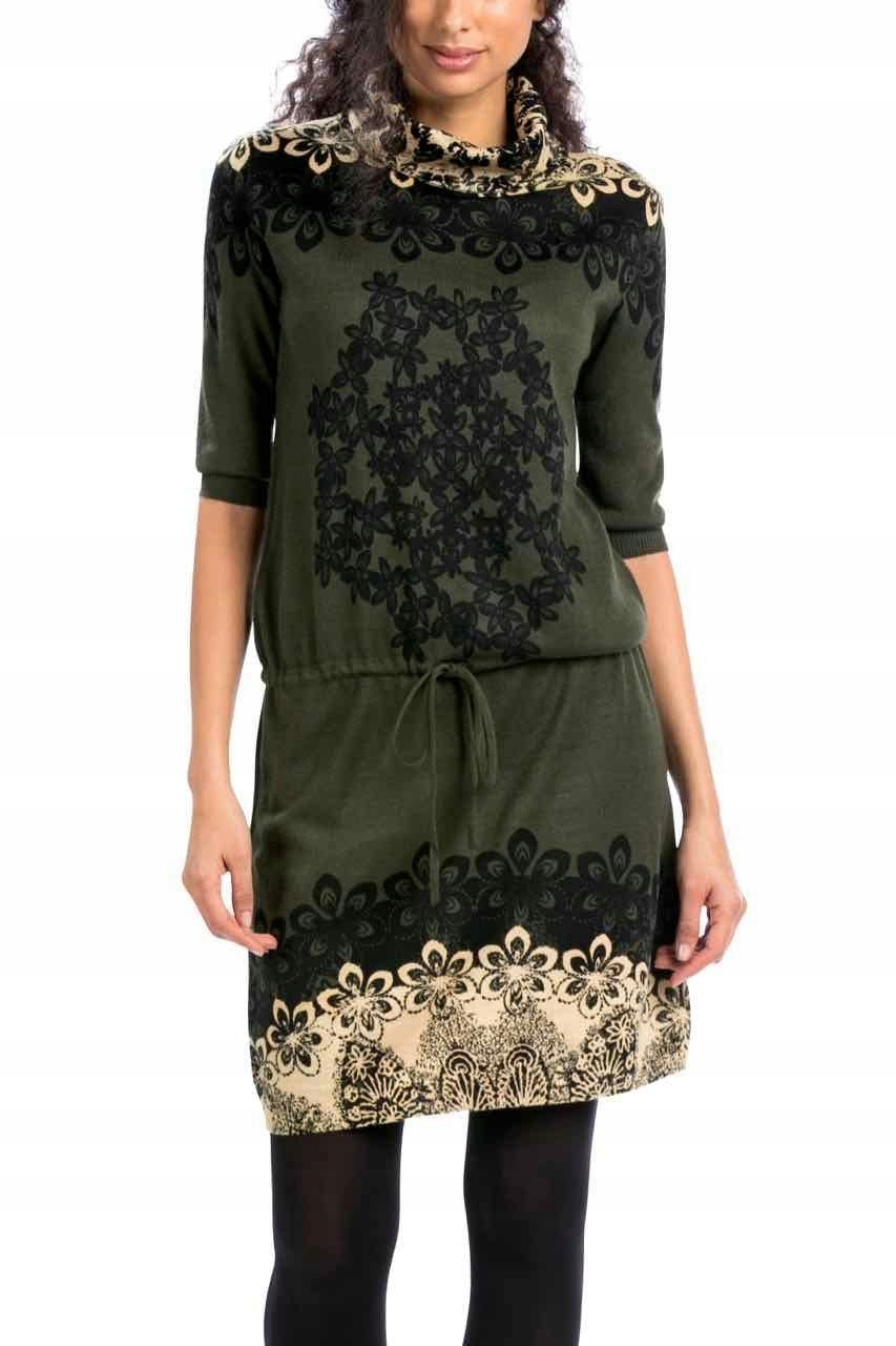 c70a797c K203 DESIGUAL VEST NUBLADO sukienka XL 42