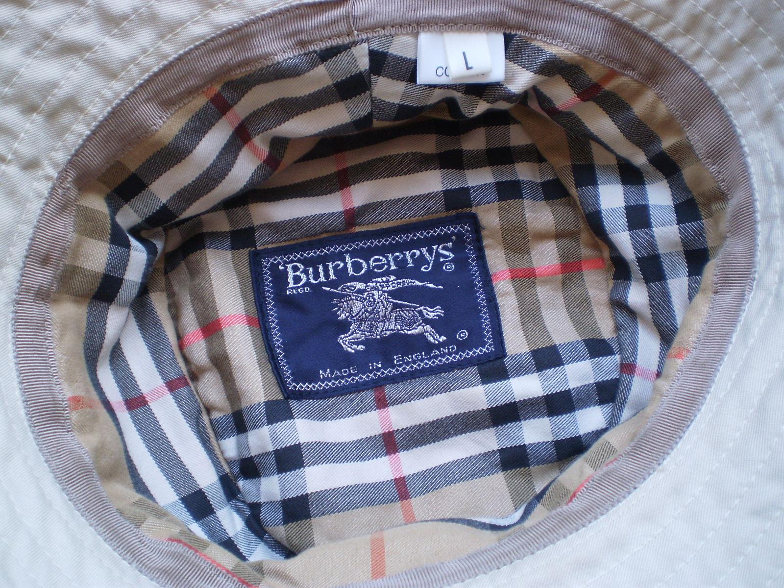 BURBERRY'S ___ kapelusz *** L --- 59 cm