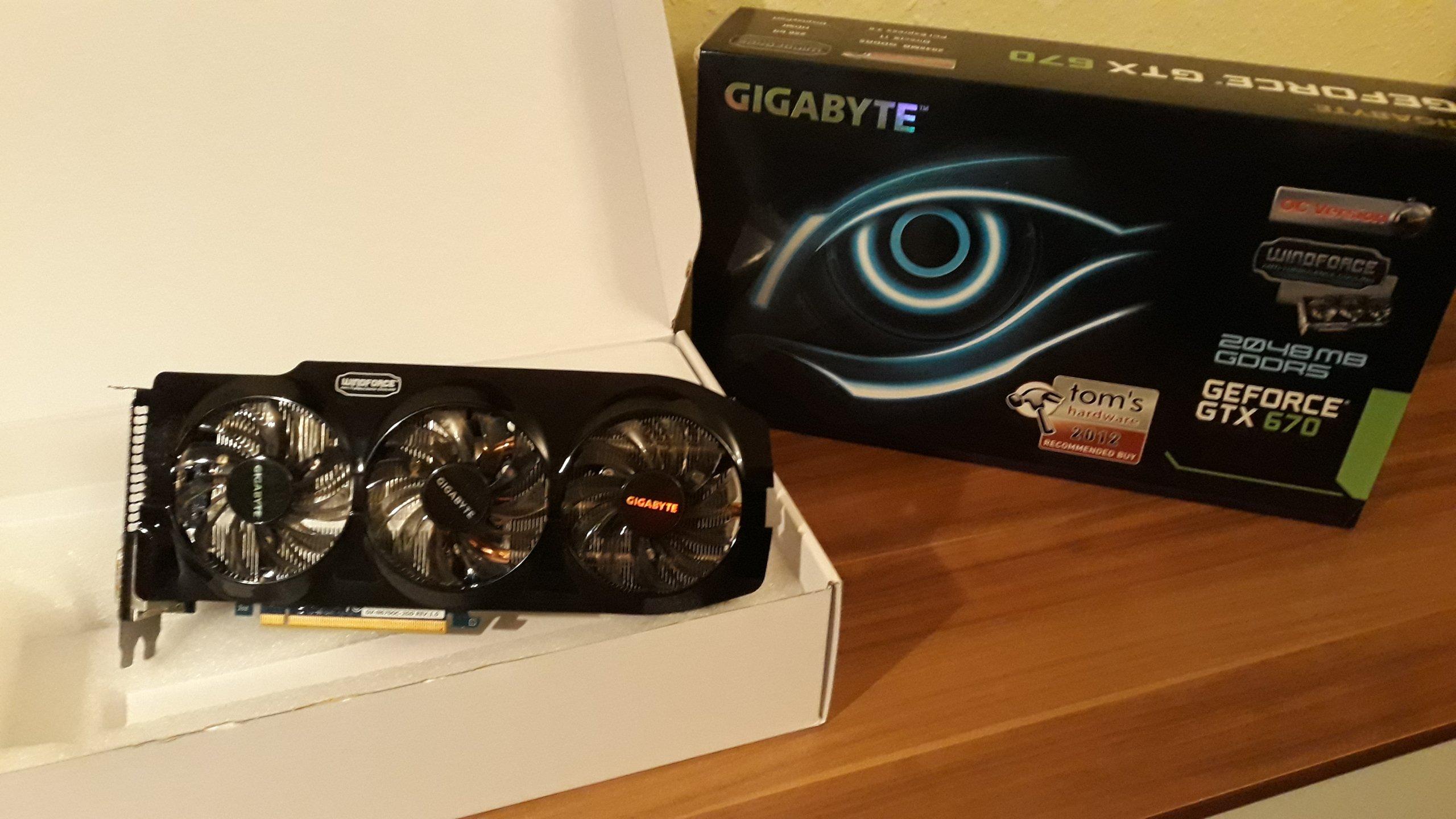 Gigabyte GTX 670 OC 2GB / GWARANCJA!