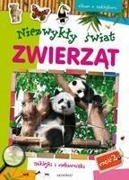 Album z naklejkami Niezwykły świat zwierząt cz.2