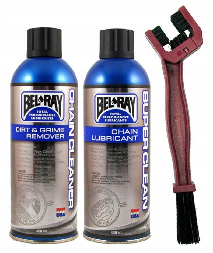 Zestaw do smarowania łańcucha BEL-RAY SUPER CLEAN