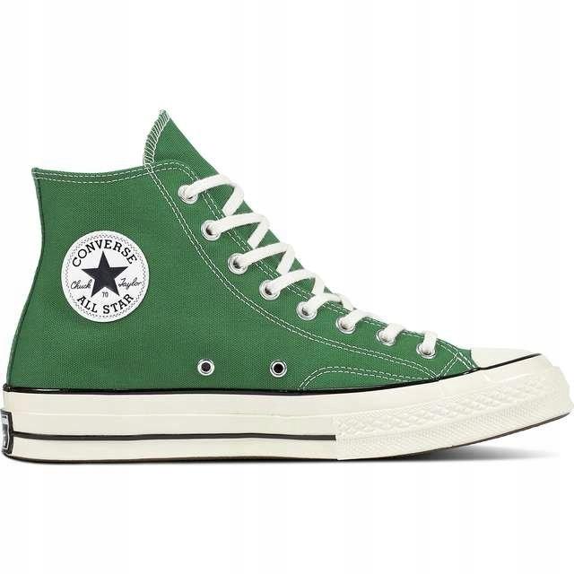 Zielone Tekstylne Buty Trampki Converse r.37,5 7524643425