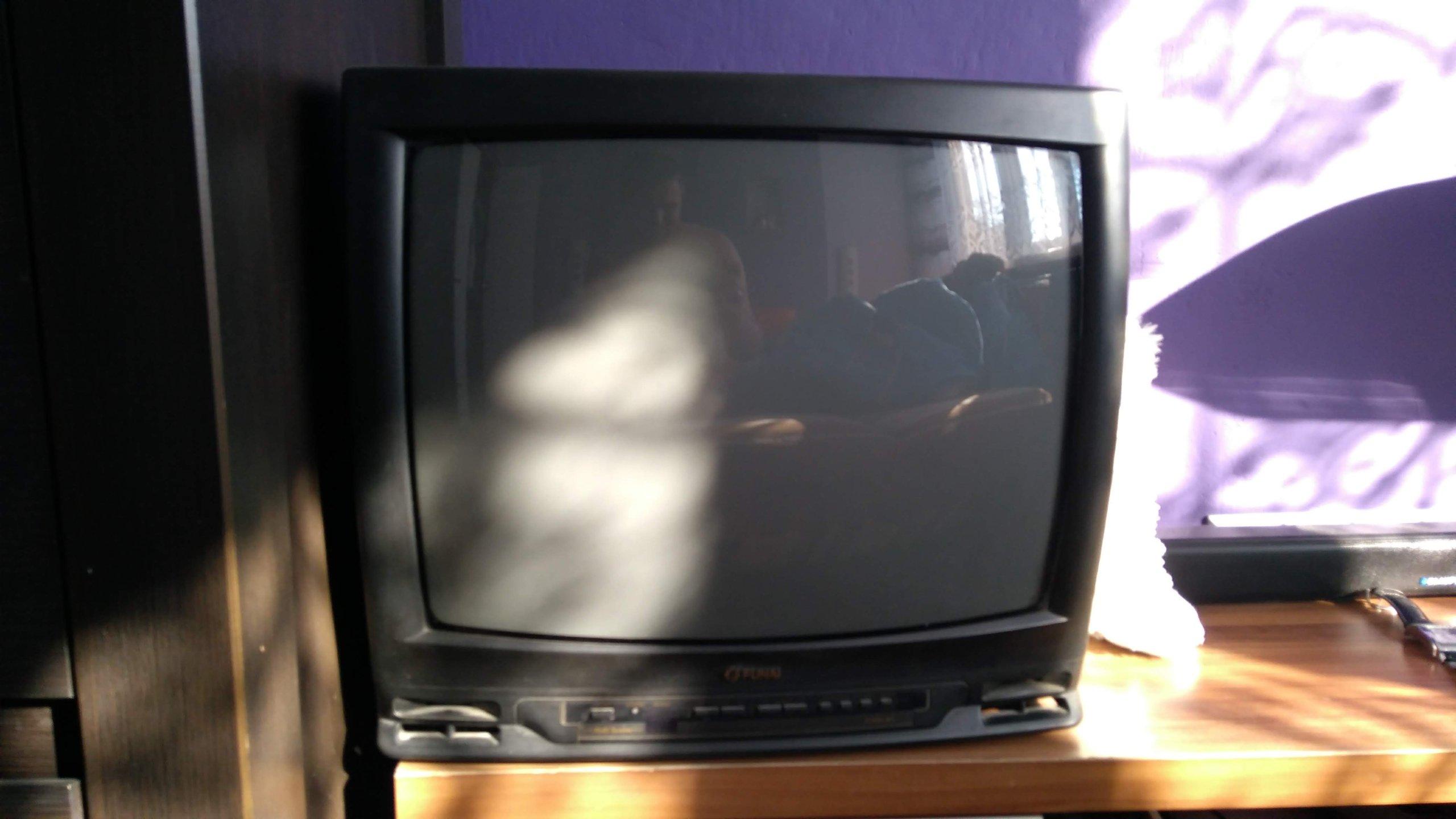 Telewizor + dekoder + antena TV-SAT