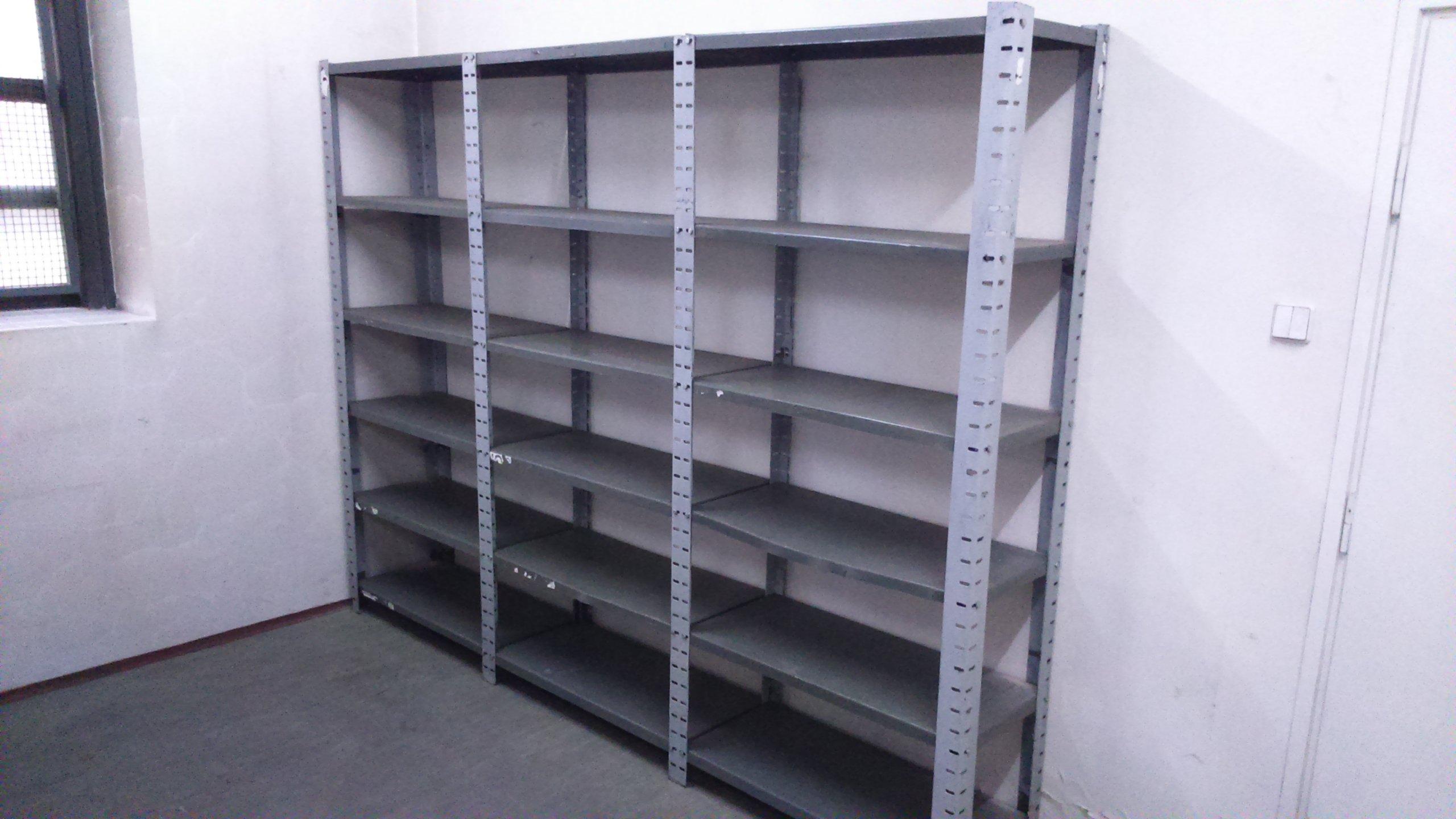 Regały Metalowe Idealne Do Piwnicy Garażu 7080781948