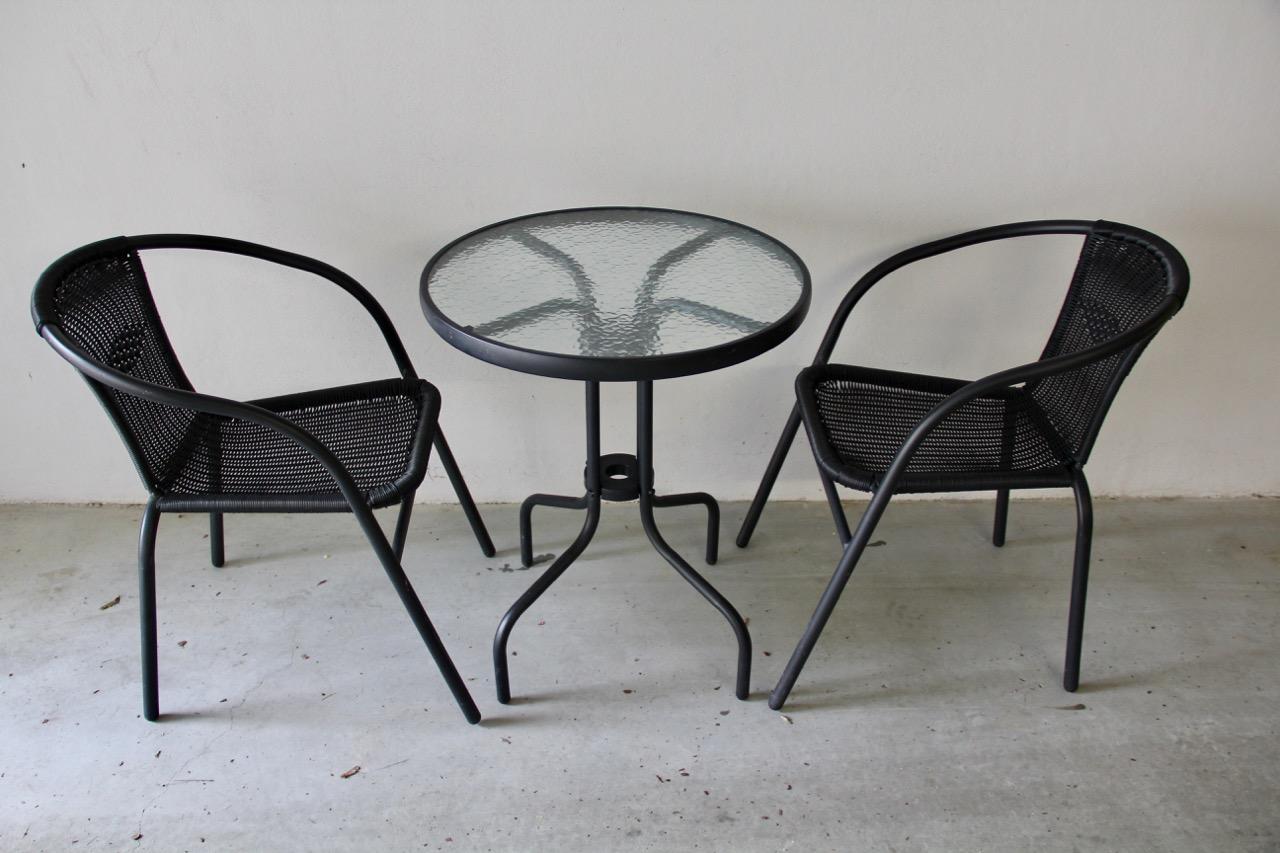 Stół 2 Krzesła Jysk Blokhus Balkonogród 7377301695