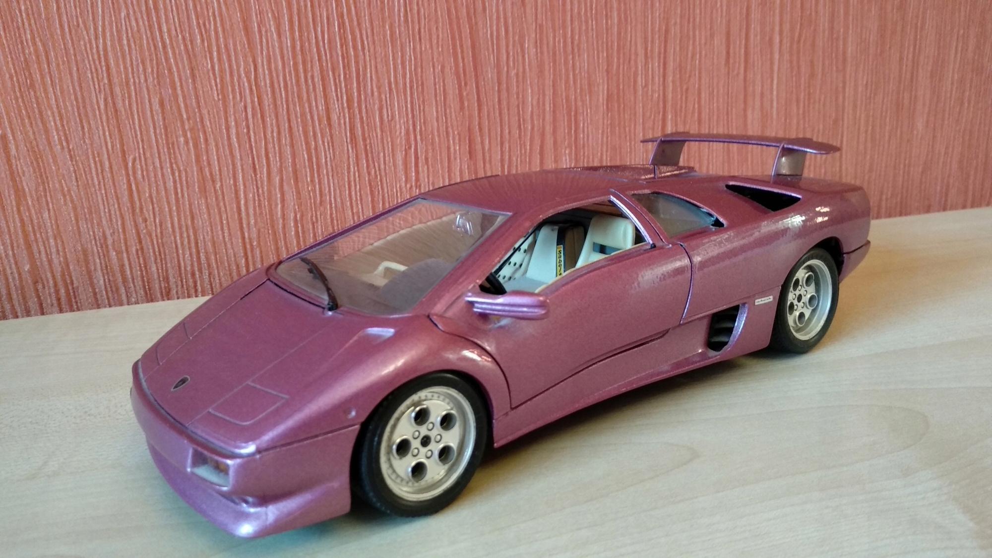 Bburago Lamborghini Diablo Stan Bdb 7506765960 Oficjalne