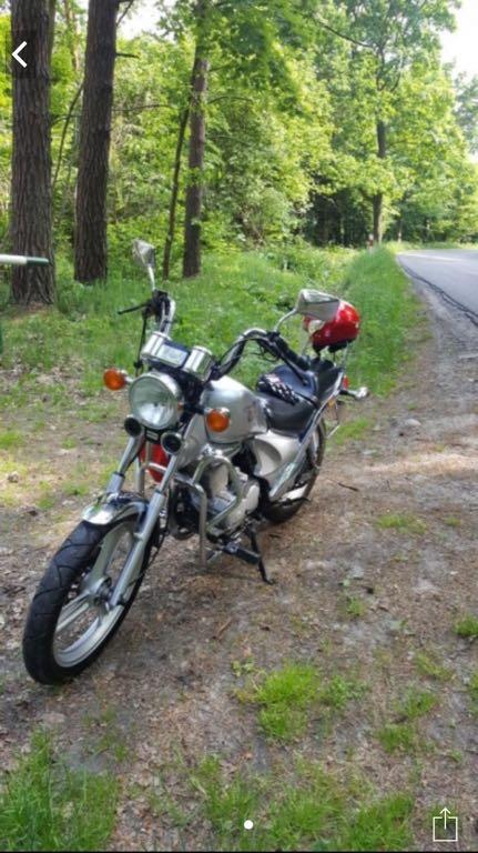 Motocykl Daelim VS 125ccm 4T Na Kat B Chopper 7046533535