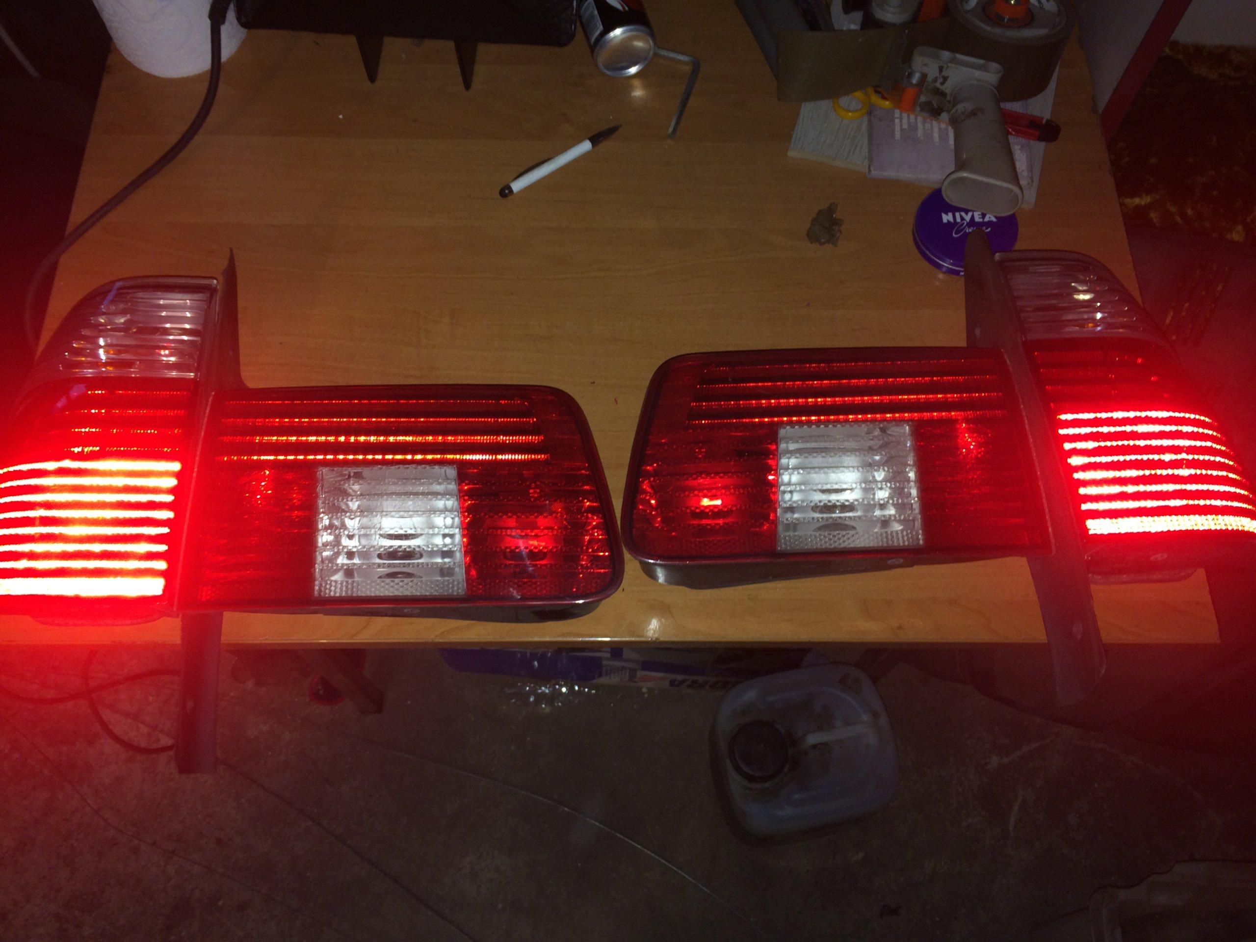 Bmw E39 Touring Kombi Led Lift Lampy Tyl Tylne 7052654135