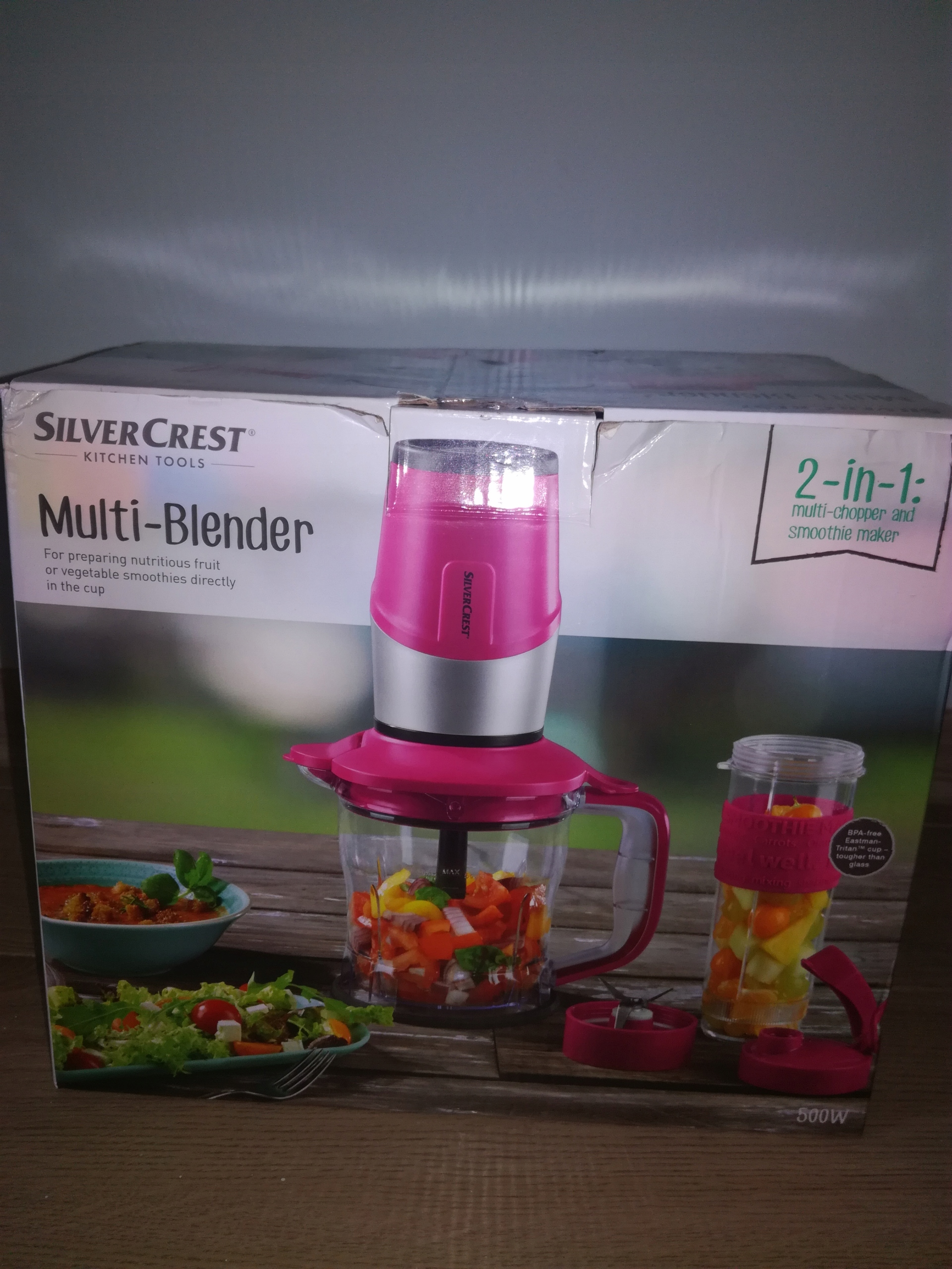 blender 2w1 SilverCrest NOWY