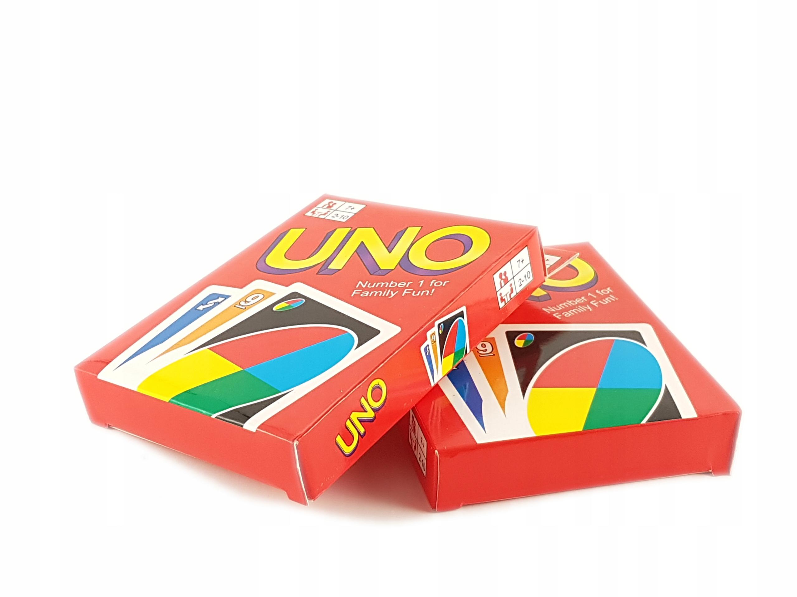 Karty Uno Gra Karciana Super Cena 108 Kart 7606723180