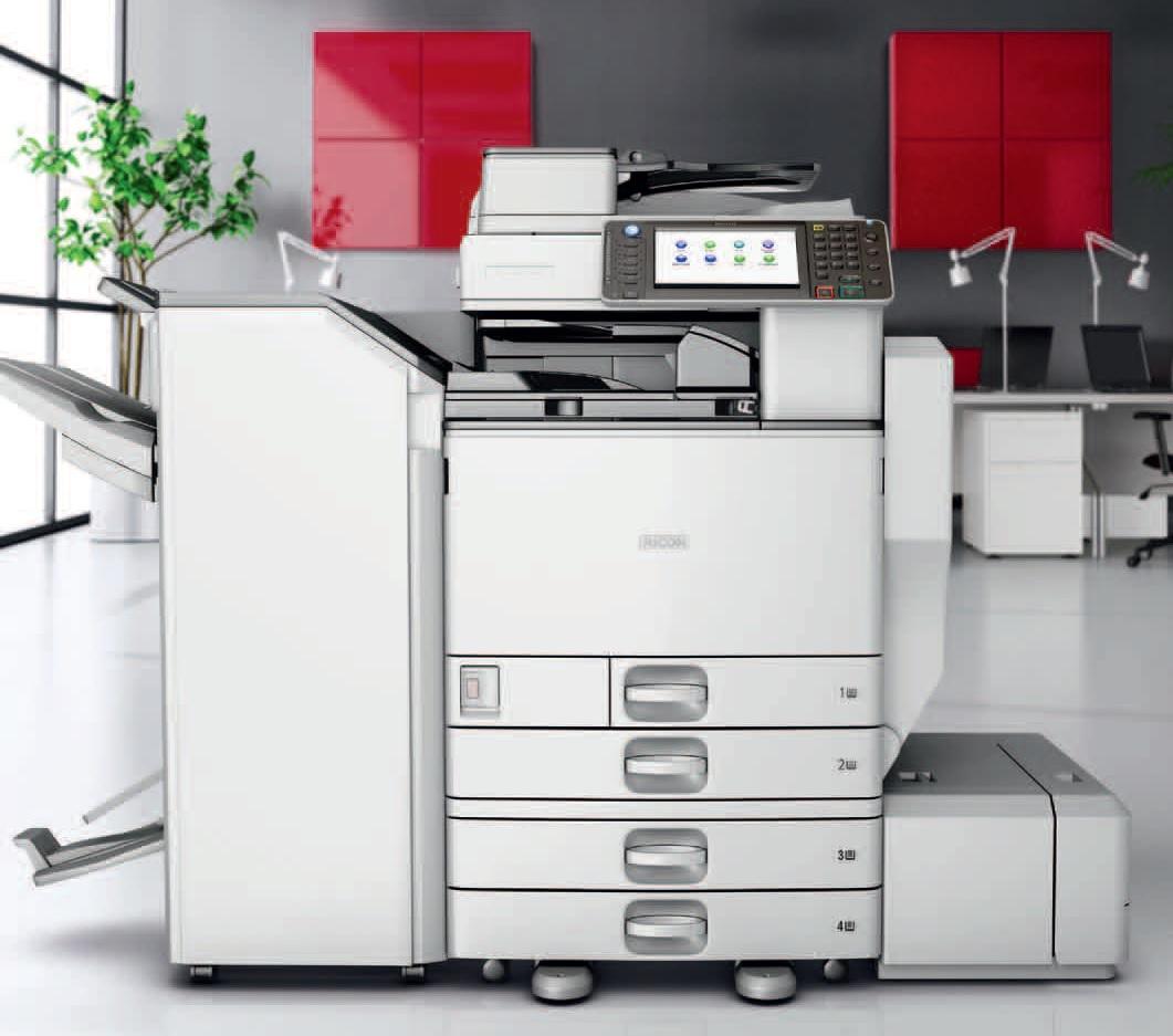 RICOH MPC 5502, cyfrowa drukarka pełnokolorowa