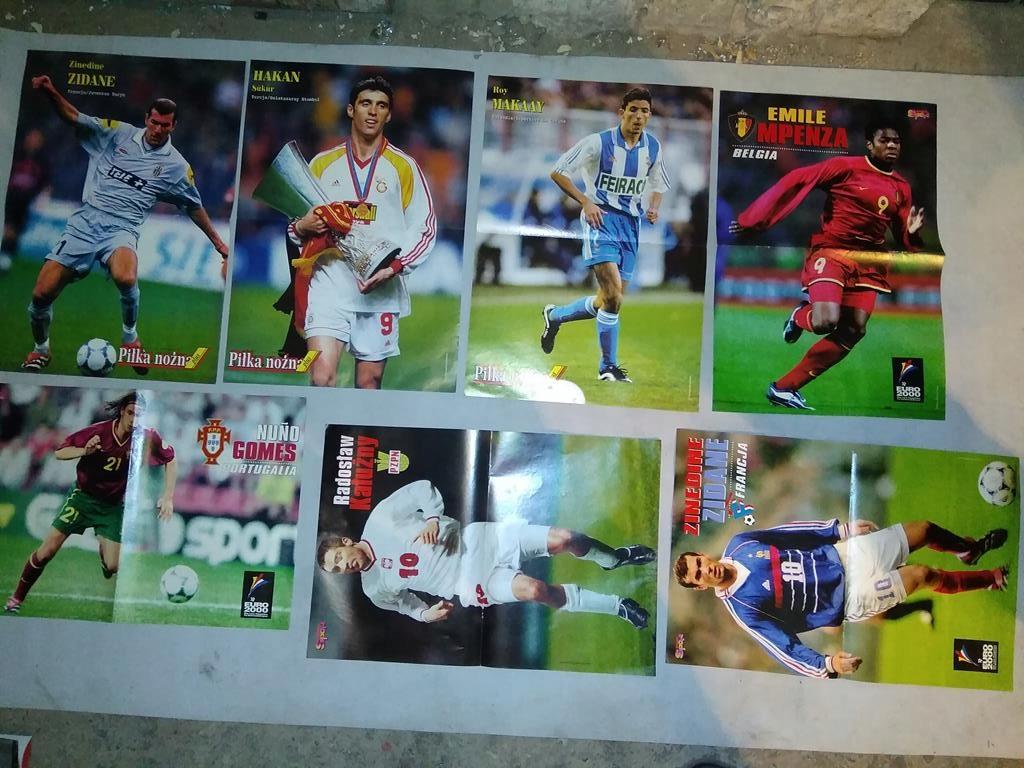 Plakaty Piłkarzy Ponad 30 Sztuk