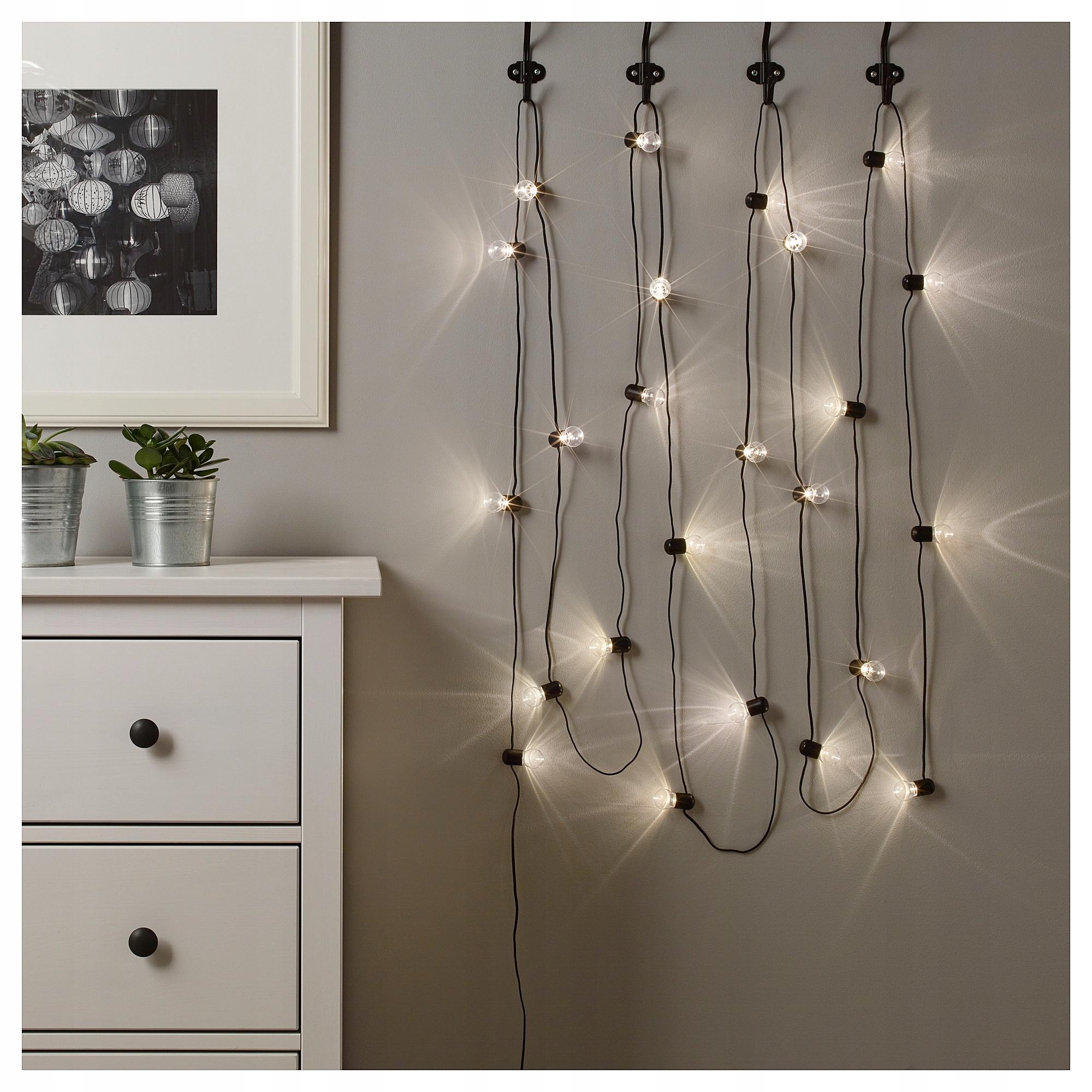 Ikea Blotsno Oświetlenie Led 24 Diod Do Wnętrz