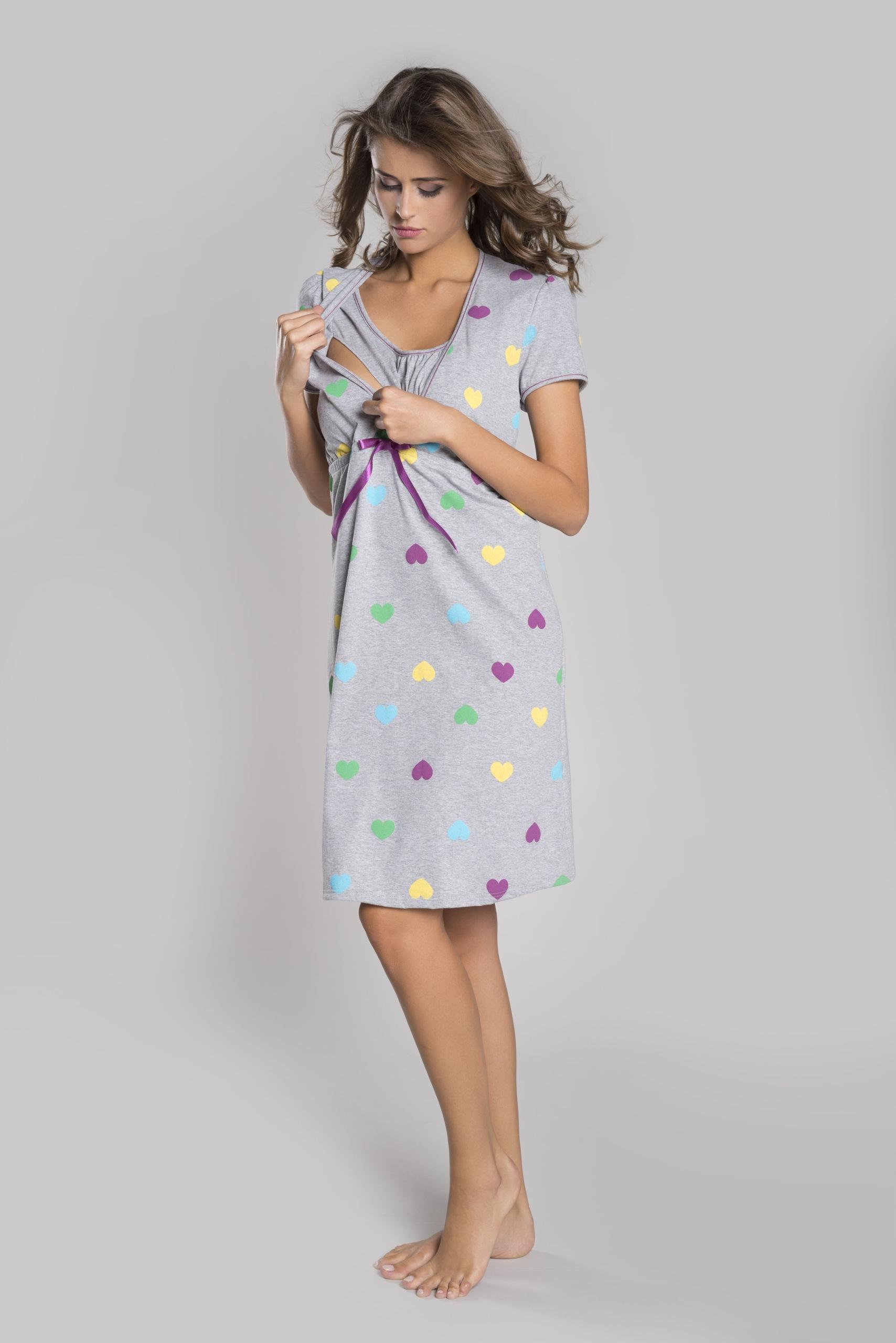 dffcc293cf9830 Italian Fashion Koszula do Karmienia Alla Szara M - 7502095293 ...