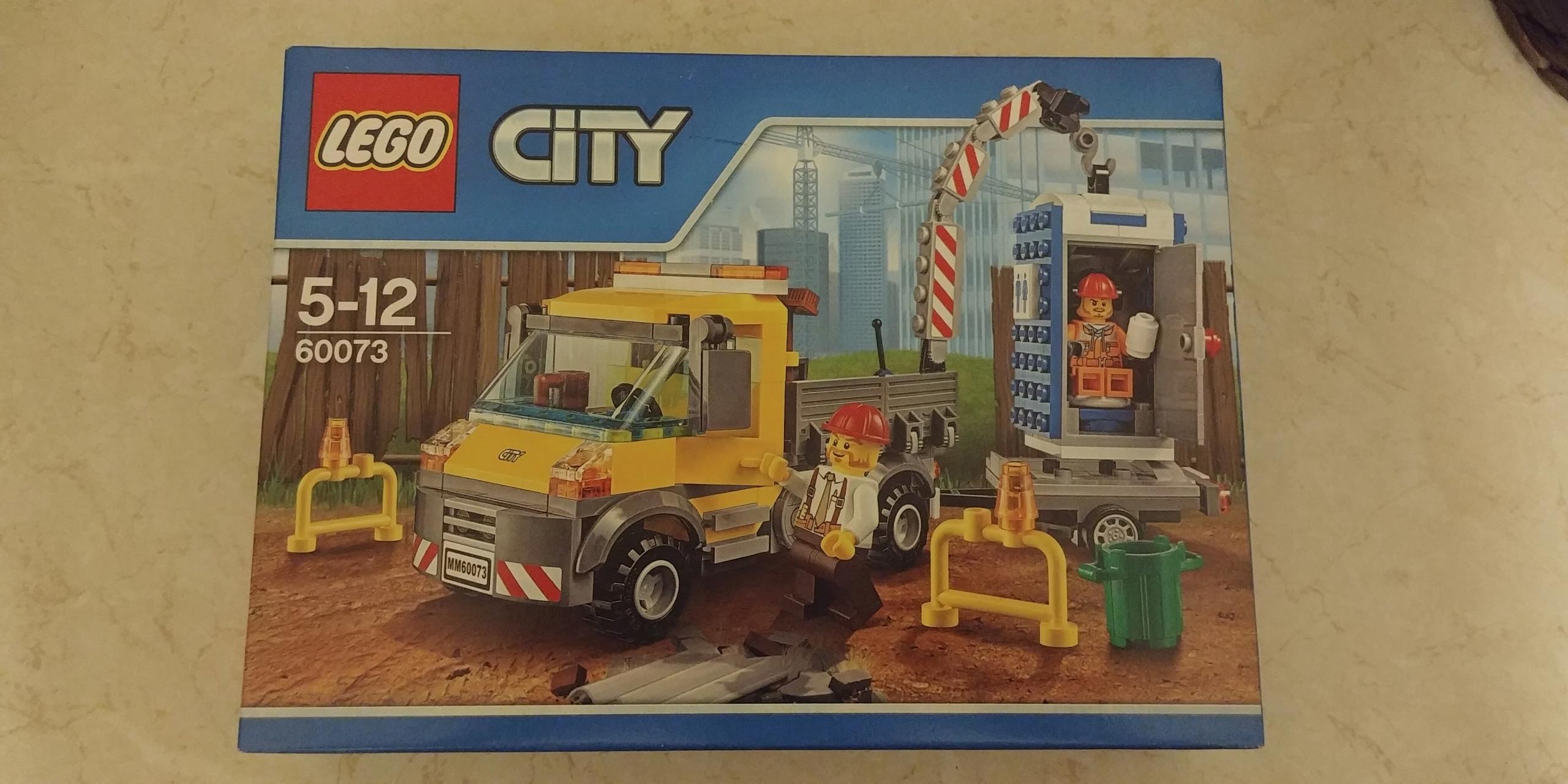 Nowe Klocki Lego City 60073 Wóz Techniczny 7707124683 Oficjalne