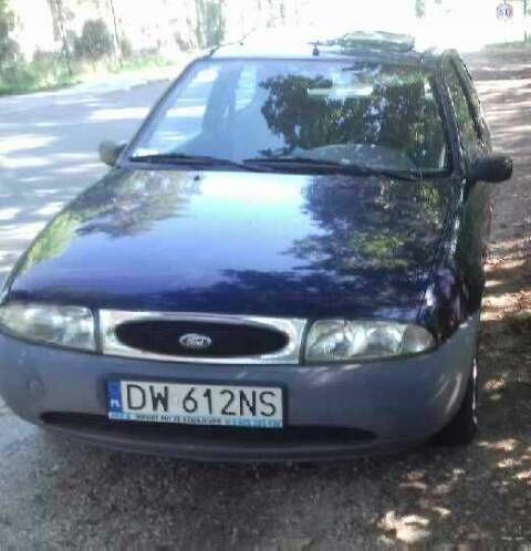 FORD Fiesta AUTOMAT 1.25 Zetec 16V 75km. MK4 1996
