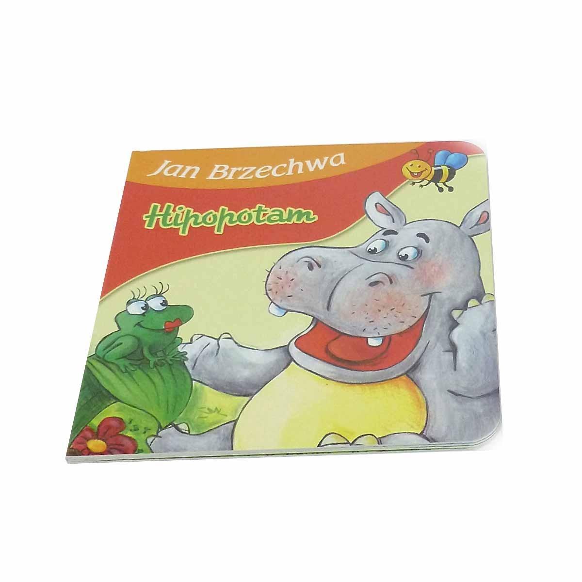 373838 Książeczka Jan Brzechwa Hipopotam 7231863329