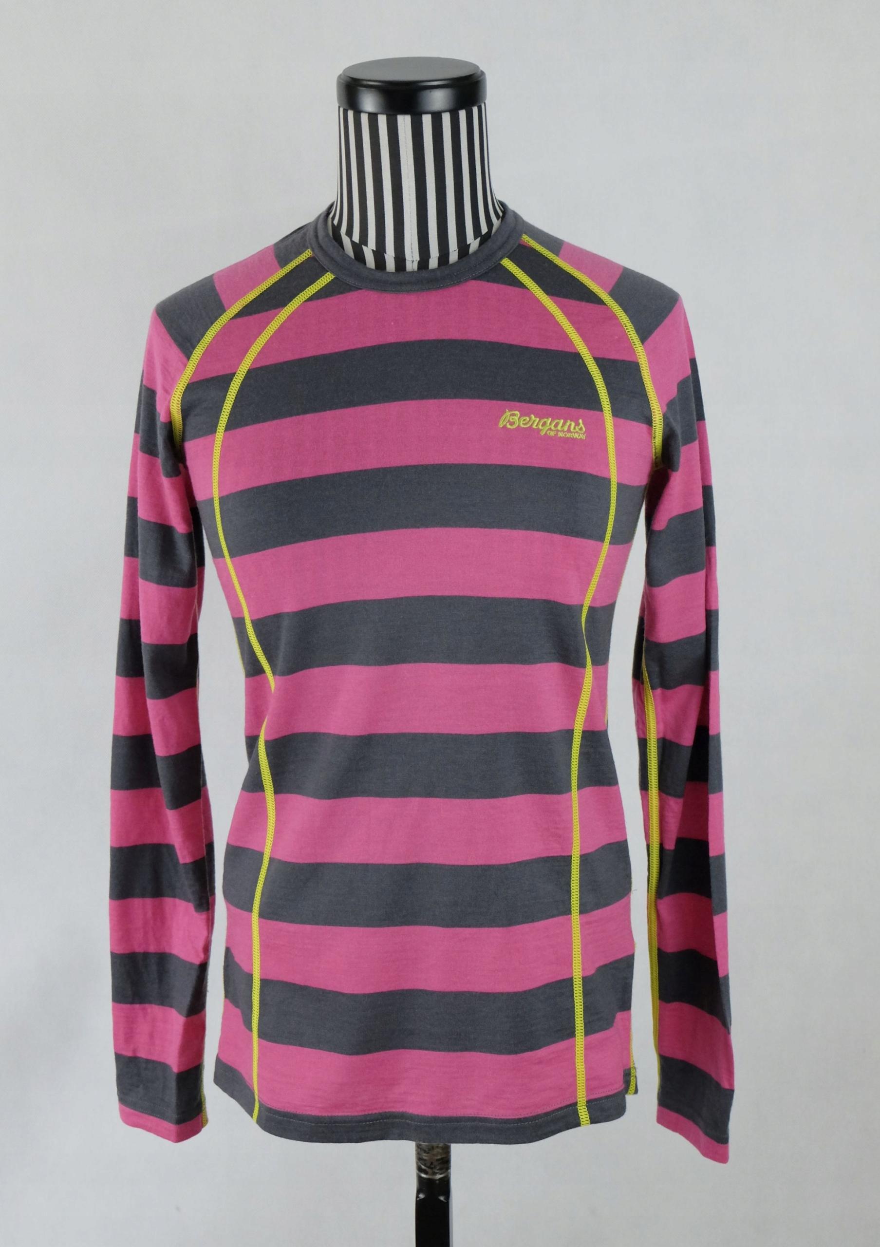 BERGANS FJELLRAPP bluzka 100% merino wool nowa XS