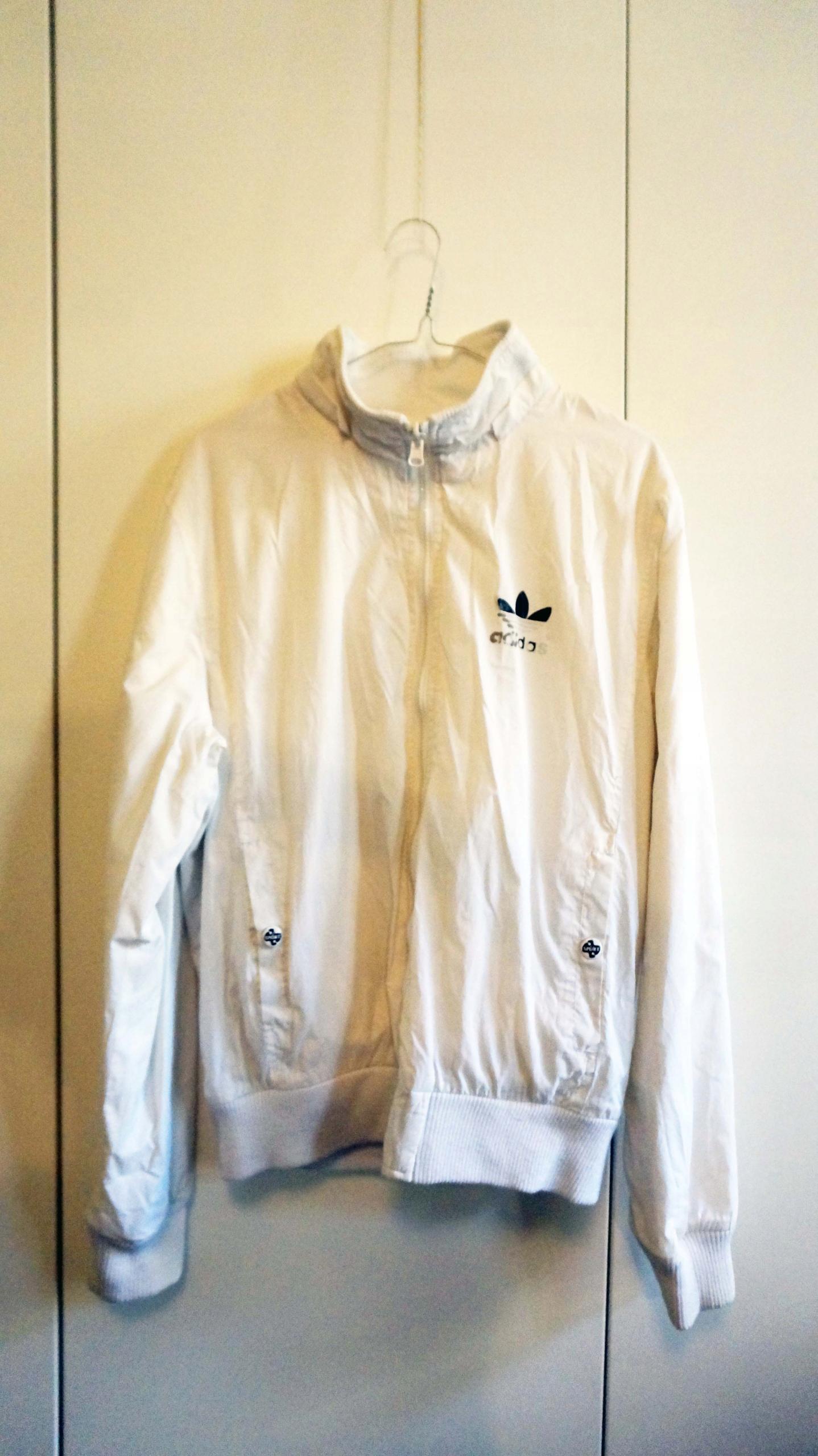 Kurtka dwustronna Adidas biała 7619153104 oficjalne