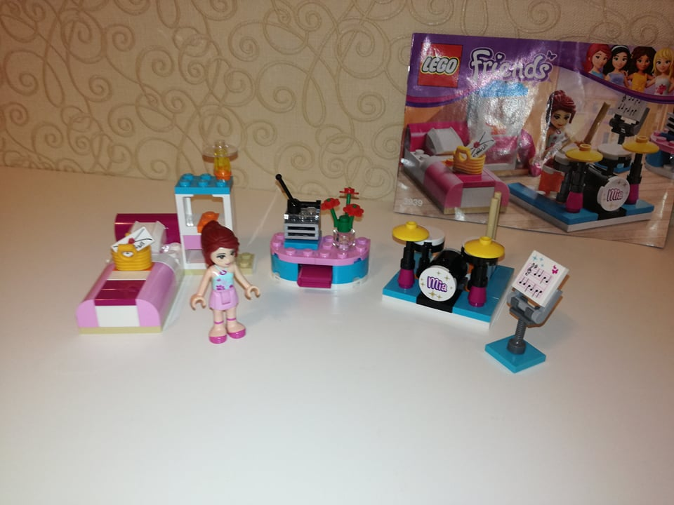 Pokoj Lego Friends