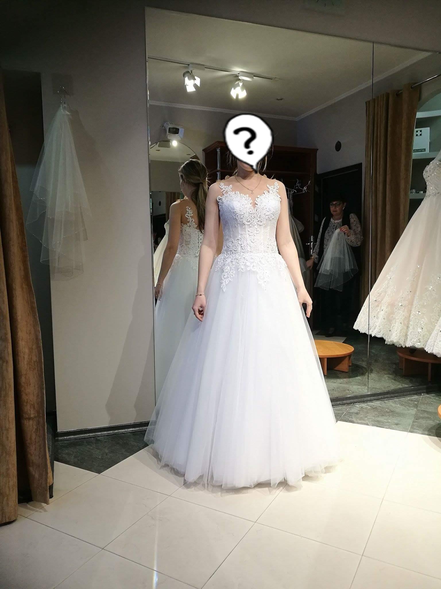 Suknia ślubna Ciążowa S 7247436000 Oficjalne Archiwum Allegro