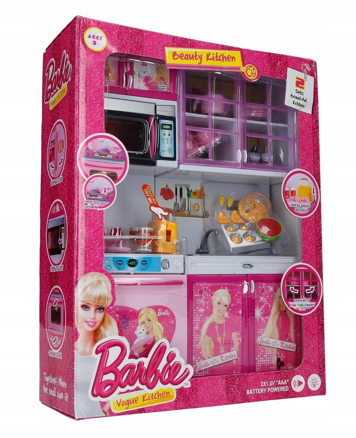 Zabawka Kuchnia Dla Lalki Barbie