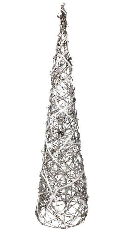 Choinka Z Wikliny świecąca Dekoracja świąteczna 7053539165