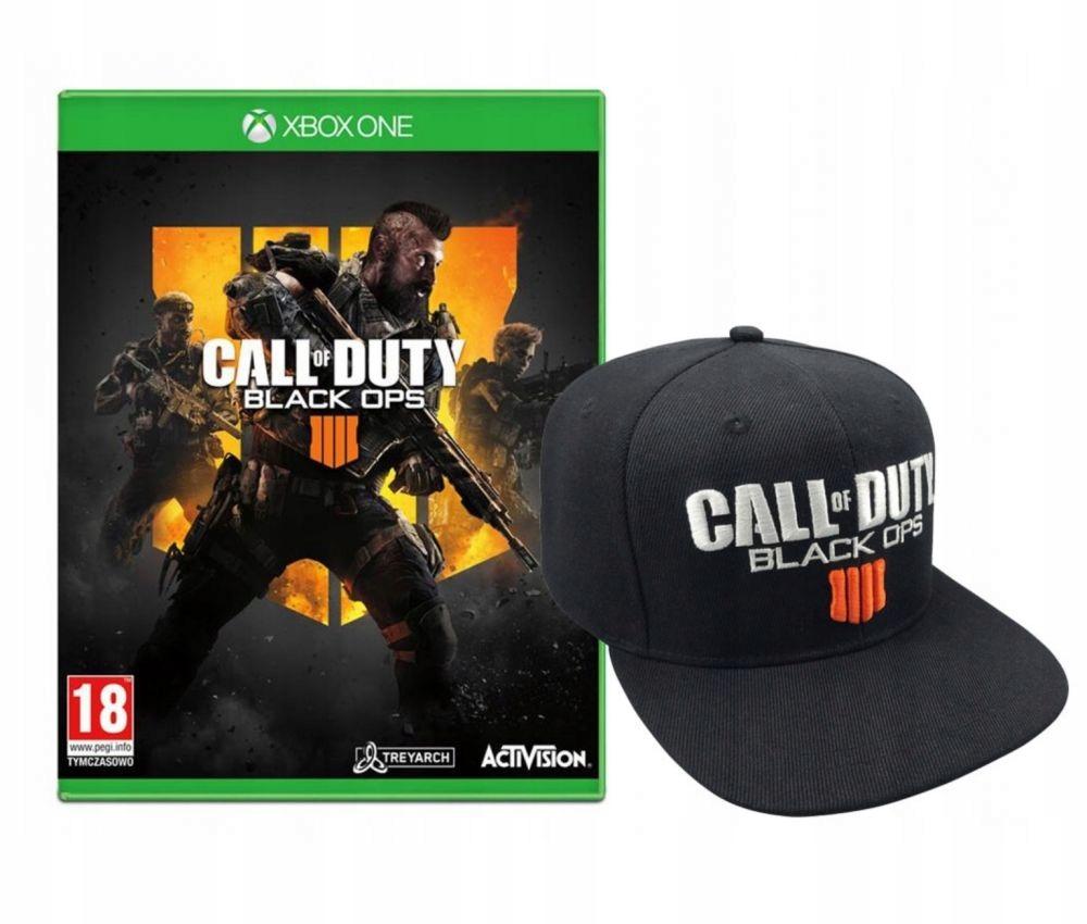 0c2bae0c975 Call of Duty Black Ops 4 PL DUBB XBOX ONE +CZAPKA - 7599540985 ...
