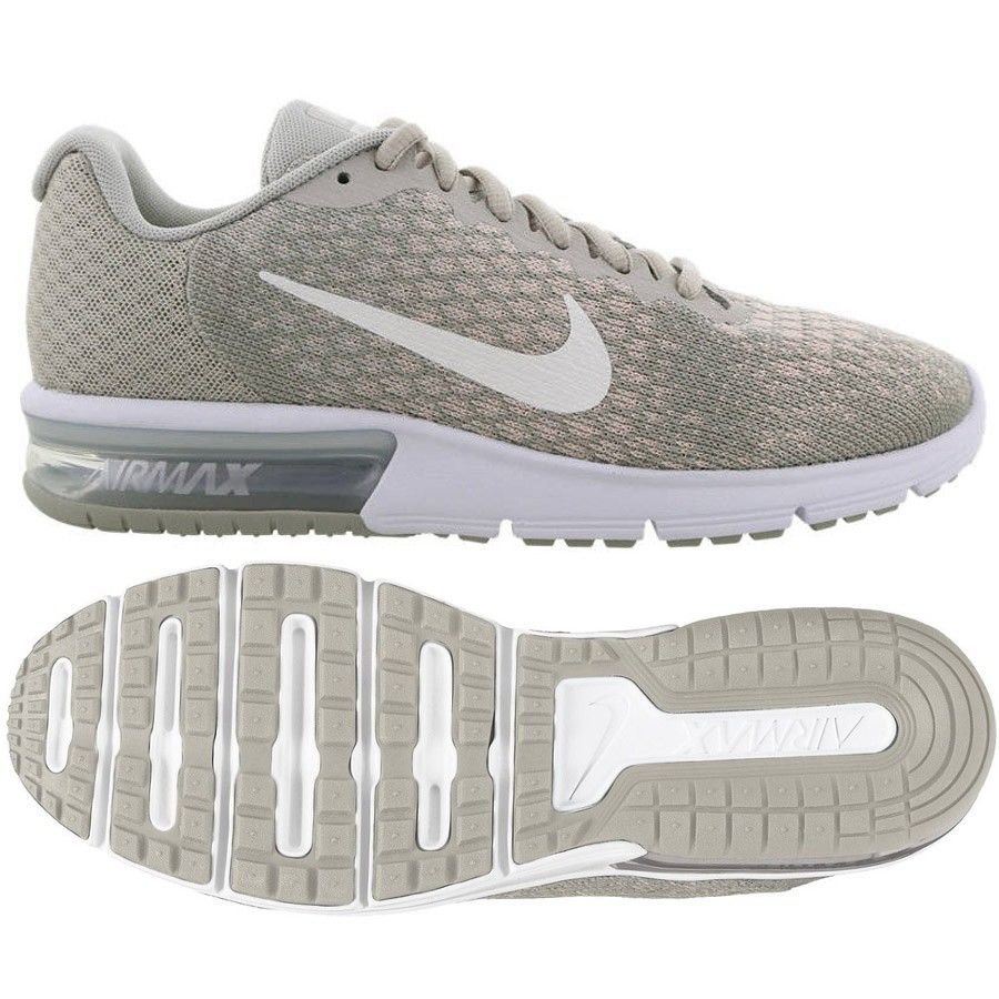 9fdb0022 Buty Nike WMNS Air Max Sequent 2 852465 011 szary - 7465408706 ...