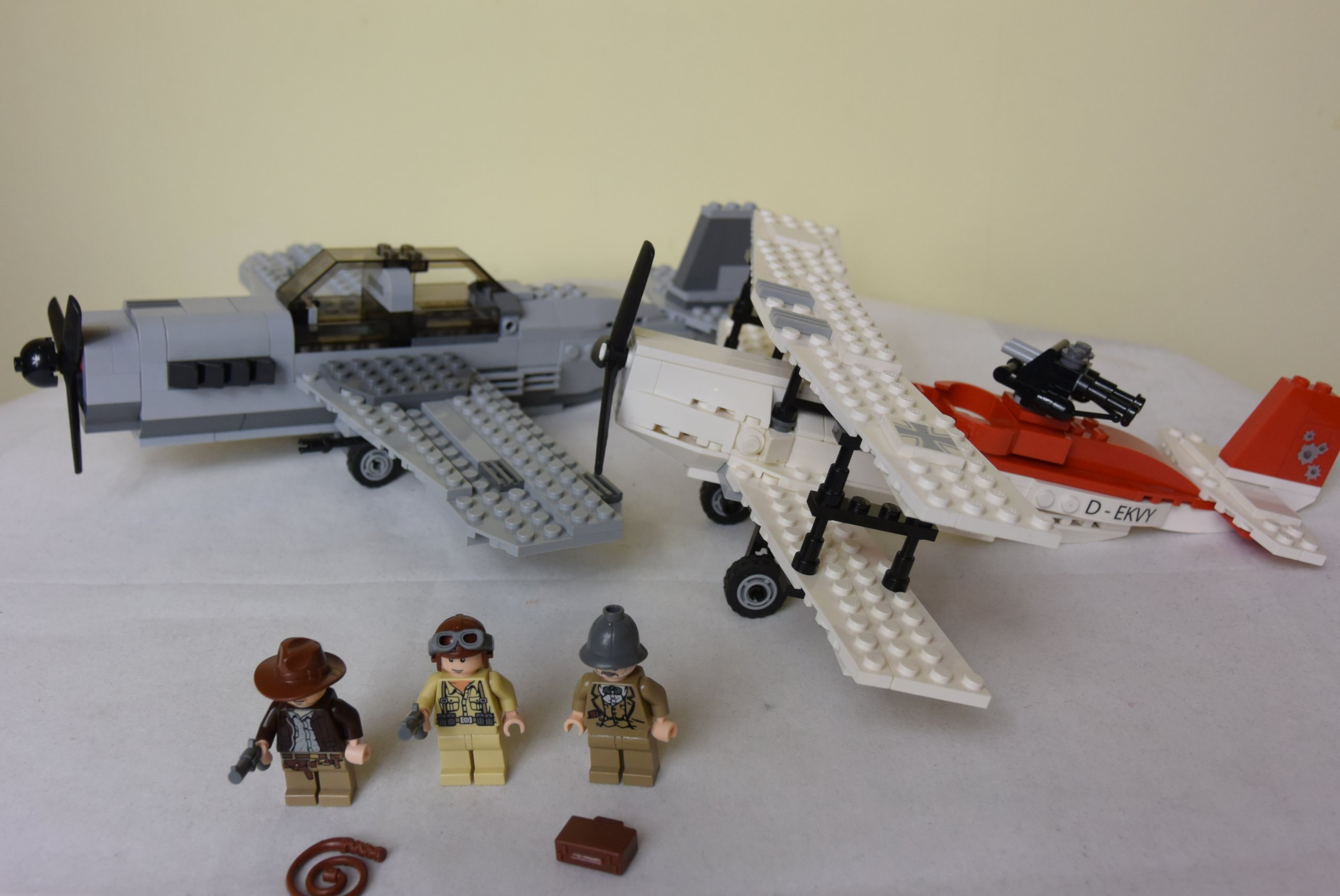 Klocki Lego Indiana Jones 7198 Bitwa Samolotow 7215598235