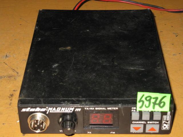 CB RADIO STABO MAGNUM M - NR S976