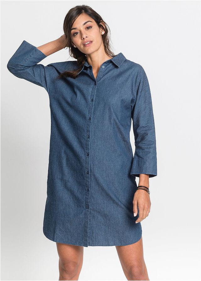 068551e03e Sukienka niebieski 50 5XL 905311 bonprix - 7226620762 - oficjalne ...