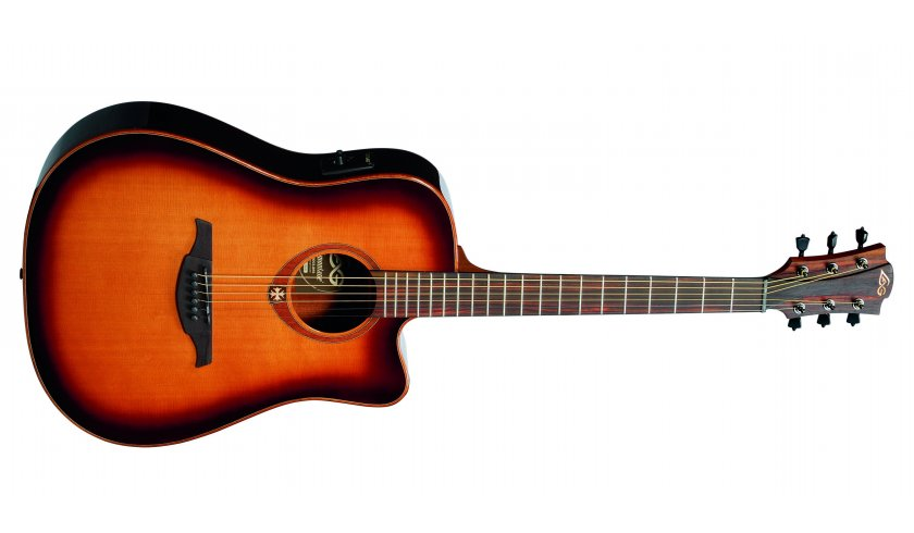 LAG GLAT-100DCE BRS gitara elektroakustyczna