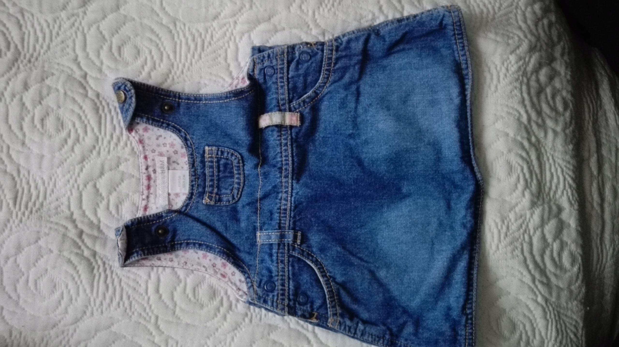 37ff0362b7 Sukienka jeansowa rozm. 56 - 7597373734 - oficjalne archiwum allegro