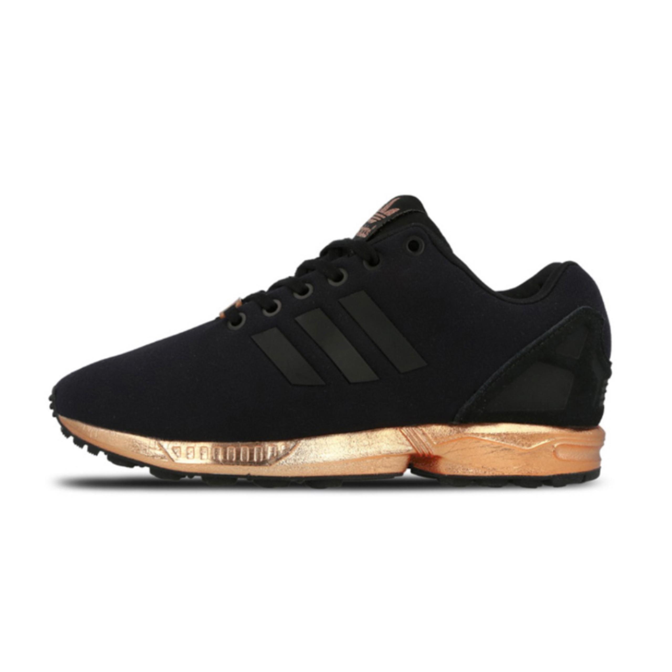 adidas zx flux damskie czarno złote