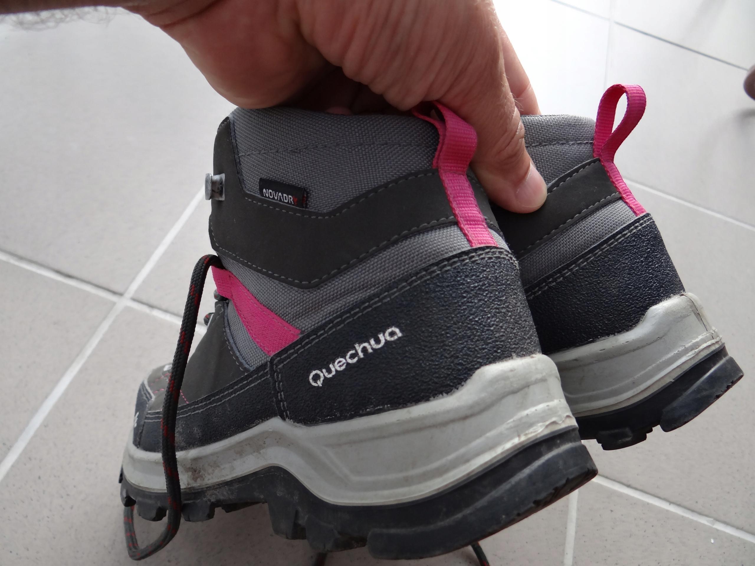 d0f6e0e36b3bf0 Buty Turystyczne MH500 MID WTP dla dzieci QUECHUA - 7721027887 ...