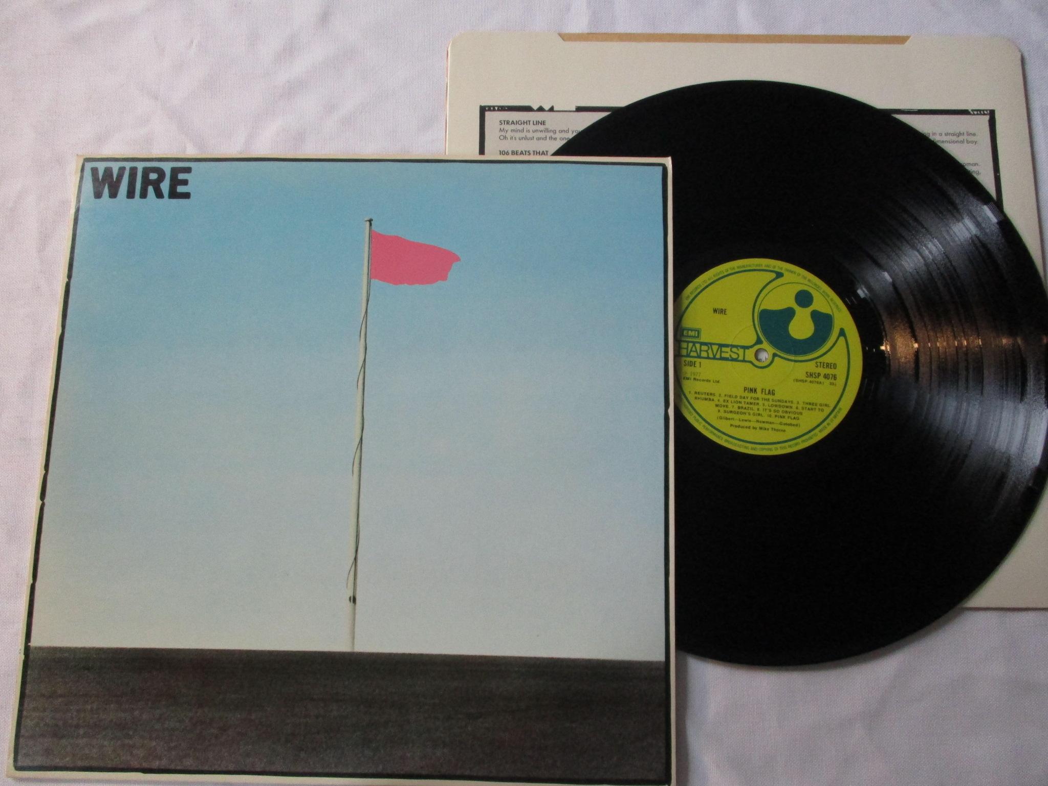 Wire Pink Flag #1877 - 7160825606 - oficjalne archiwum allegro