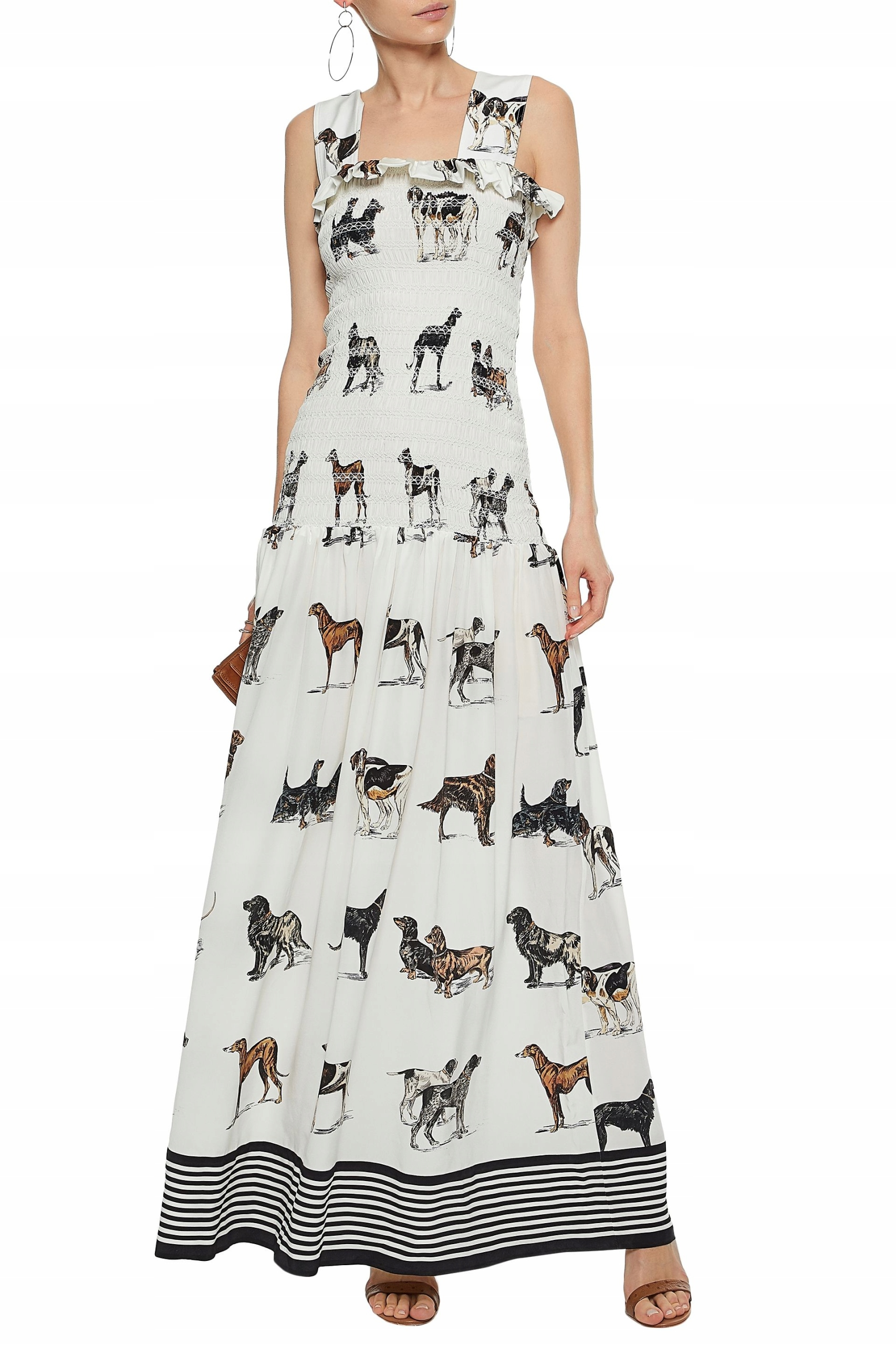 STELLA MCCARTNEY sukienka jedwab maxi nowa 34 36 - 7686620333 ... 40131a207d201