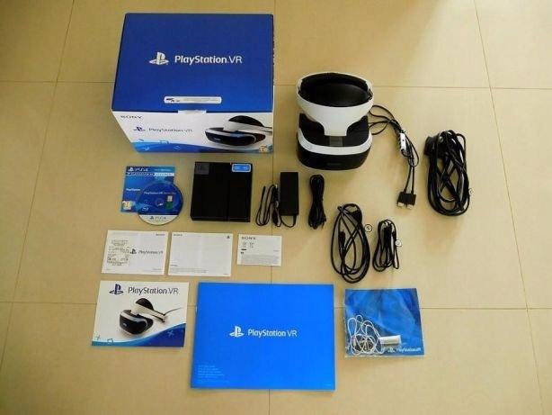 Playstation VR zestaw kamerka+pałeczki move+gra