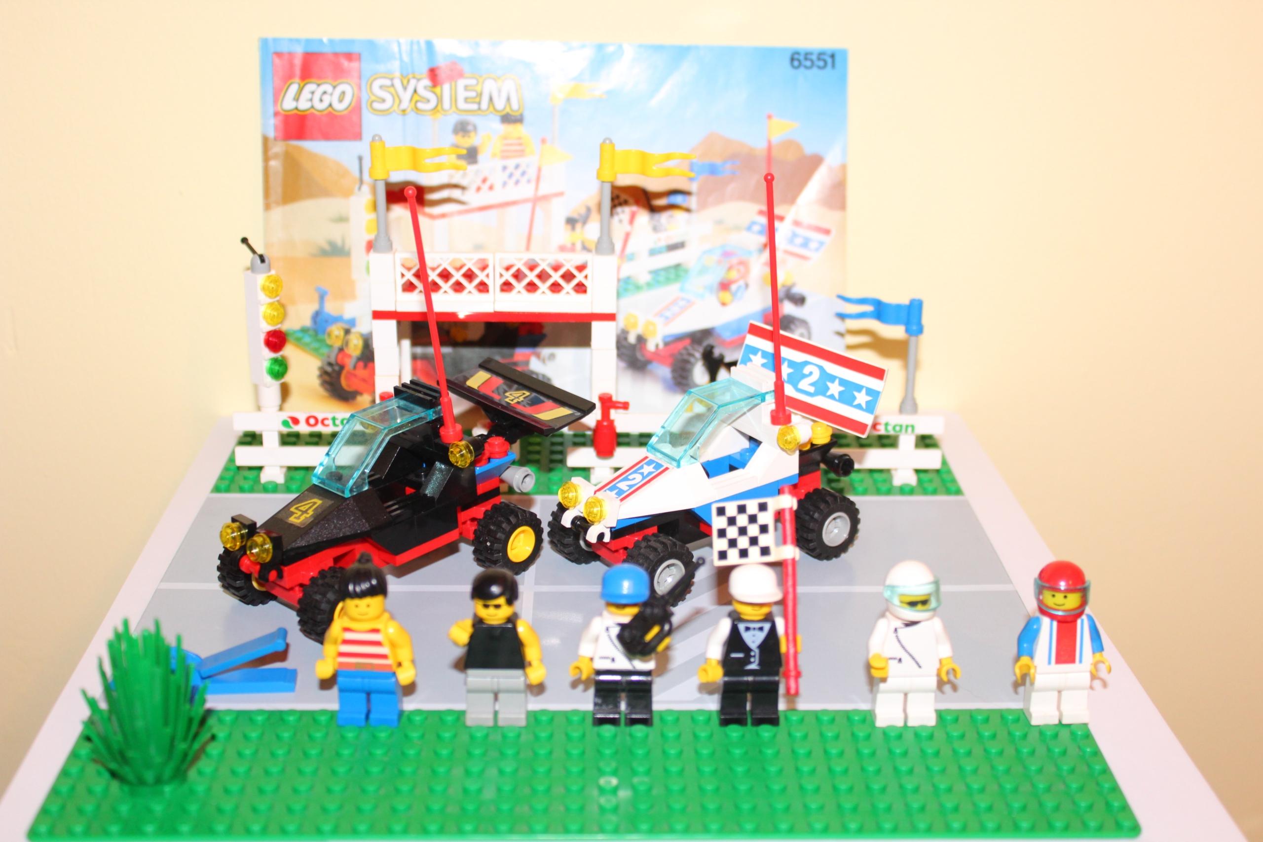 Lego 6551 Wyścigi Instrukcja City Town 7728367080 Oficjalne
