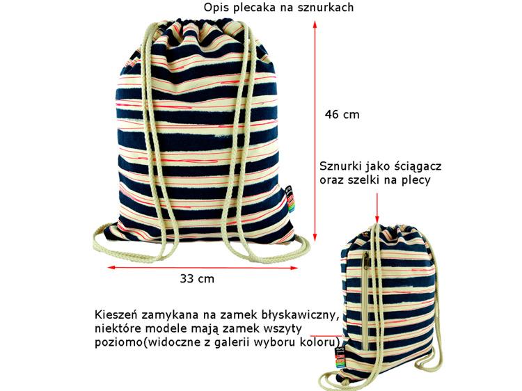 e8b89c8f77af2 PLECAK szkolny WORKO-PLECAK kolorowy ST.RIGHT M1 - 6985124691 ...
