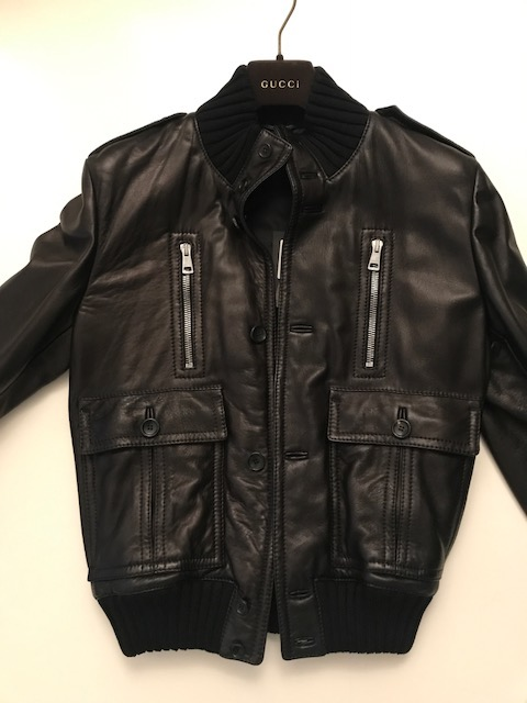 bb4d5de28efc0 Gucci madonna męska kurtka skórzana 100% oryginał - 7370087511 ...