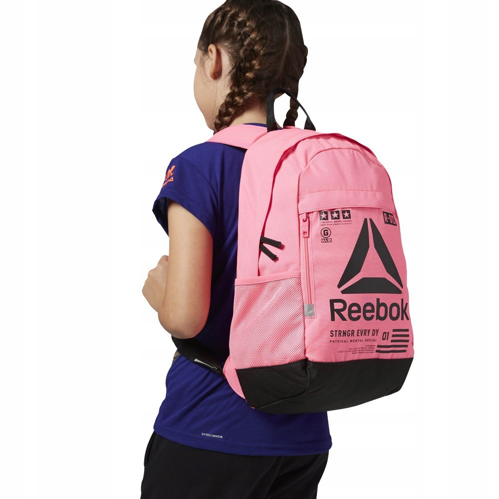 d0a28f32d7dd2 Plecak Reebok Kids Junior Motion TR Backpack AY177 - 7443743427 ...