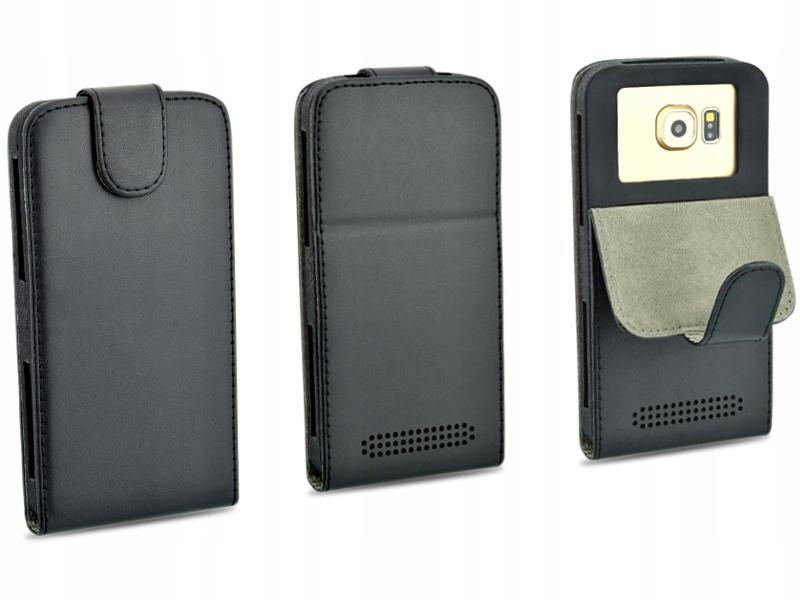 Etui czarne do telefonu SONY Xperia Z1